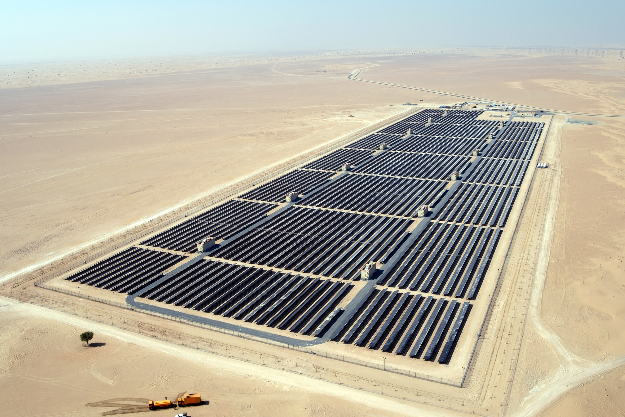 The new energy will look to spur the integration of clean energy into the UAE's energy mix. Image: First Solar