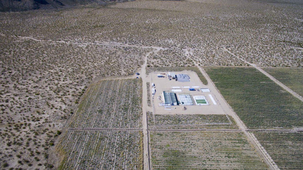 The site of teh 828MW solar park, Villanueva, before construction began. Credit: EGP