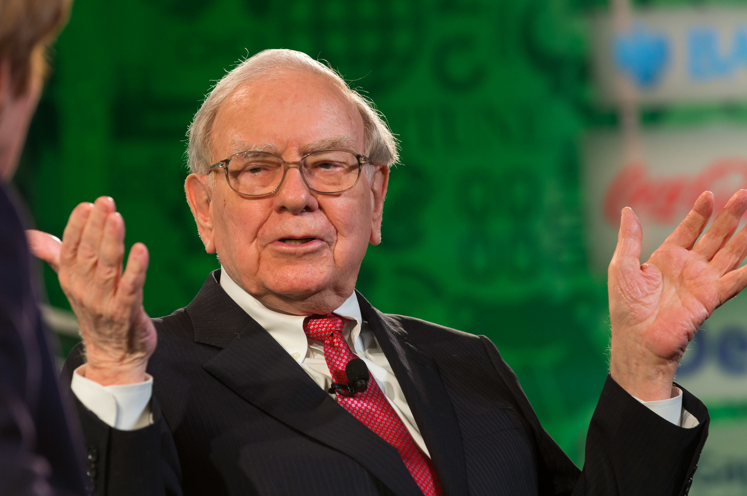 Berkshire Hathaway CEO Warren Buffett addressed the impact of renewable-energy resources on established utilities in his latest letter to shareholders. Image: Fortune Live Media / Flickr