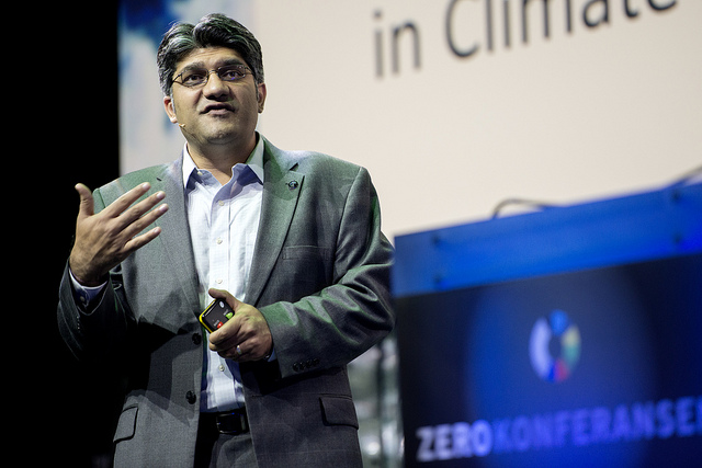 SunEdison founder Jigar Shah deems the pairing of clean electricity with electric vehicles as a