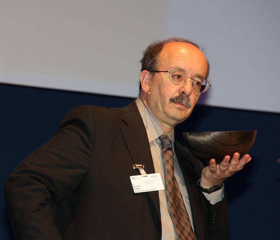 Amory B Lovins of the Rocky Mountain Institute. Image: wikimedia user: RudolfSimon.