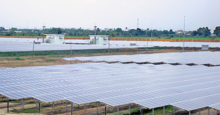 Conergy has developed utility-scale projects in Thailand (pictured) and appears to be committed to gaining a foothold in Japan. Image: Conergy.