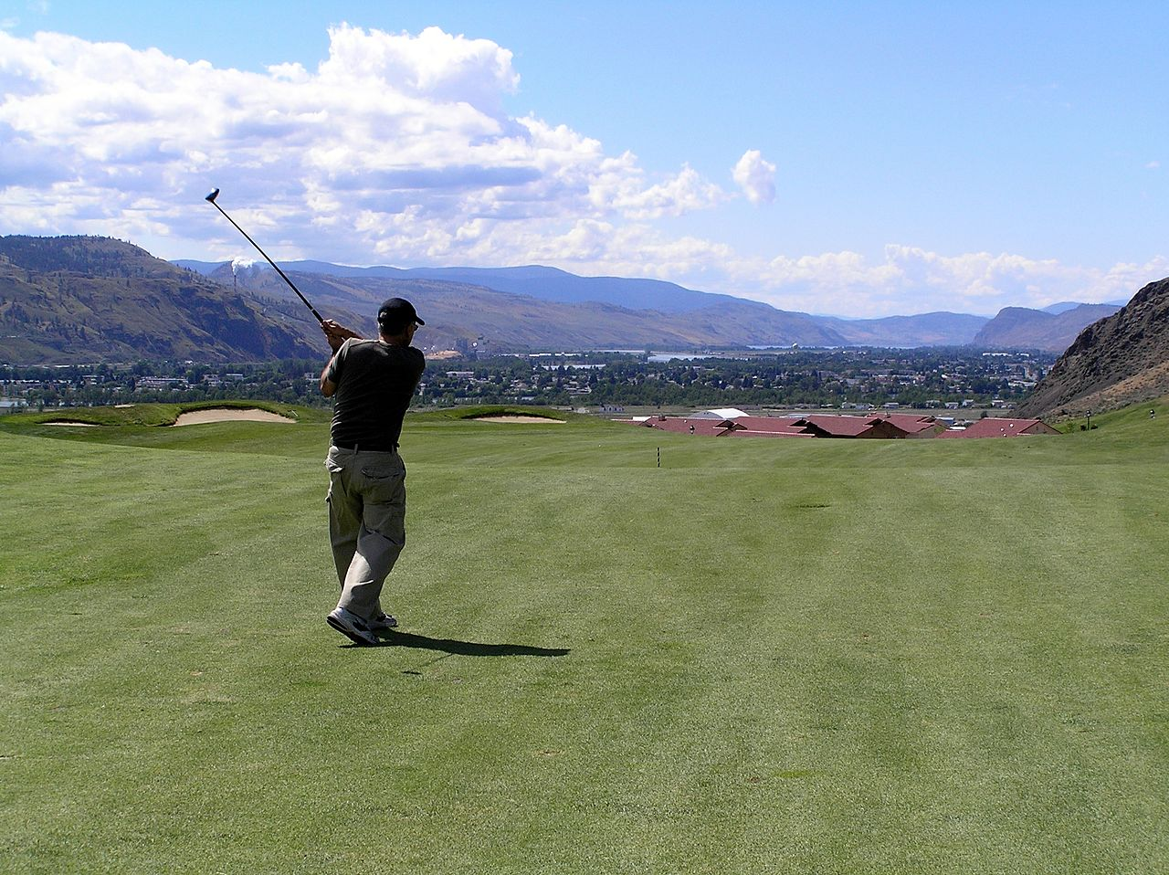 Japan built dozens of golf courses in the boom years. Image: Flickr user: David Wise.