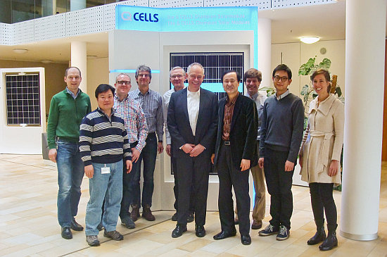 Hanwha Q CELLS has previously entered into a development partnership with 1366 Technologies that achieved a solar cell efficiency of 19.1%, independently verified by Fraunhofer ISE. Image: 1366 Technologies