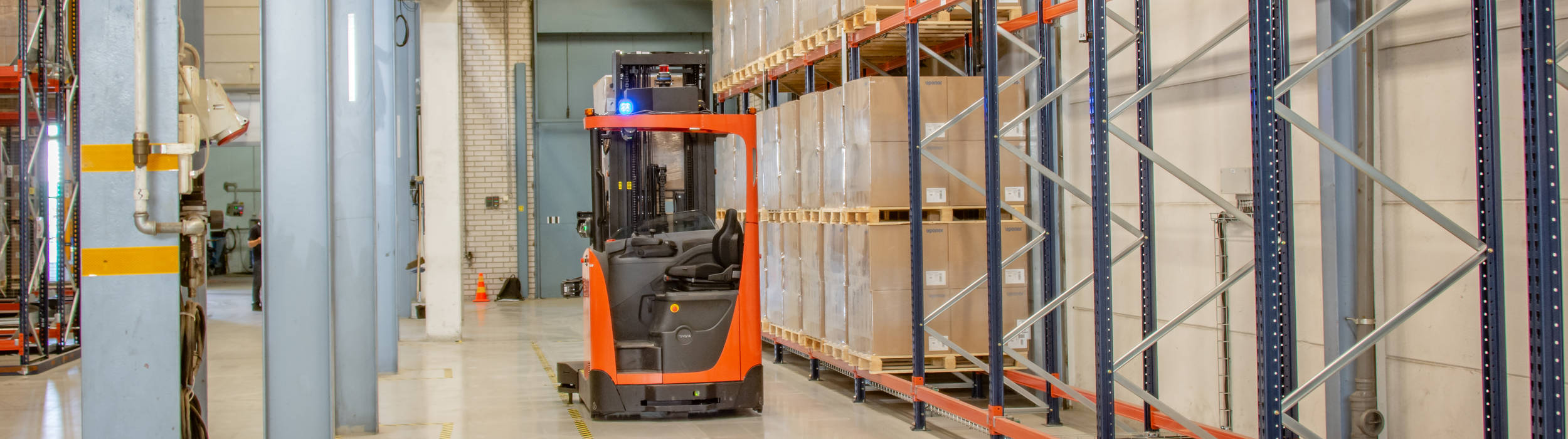 Decisions on where rooftops will be added beyond Sweden will come later this year, Eneo said (Credit: Toyota Material Handling Europe)