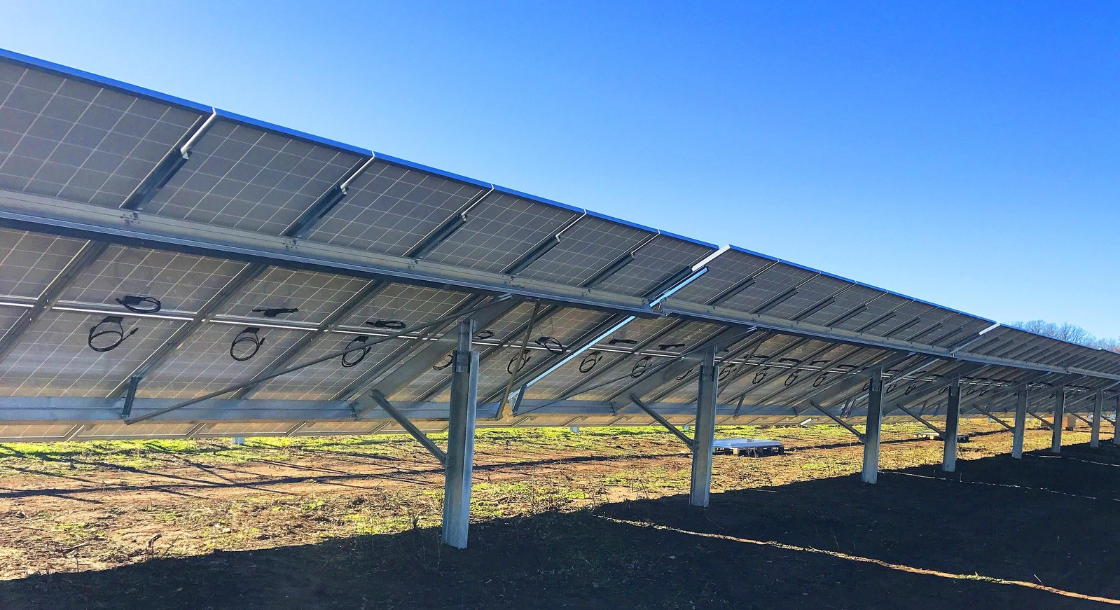 The pipeline features nine community solar projects under development by SunShare. Image: Solar FlexRack