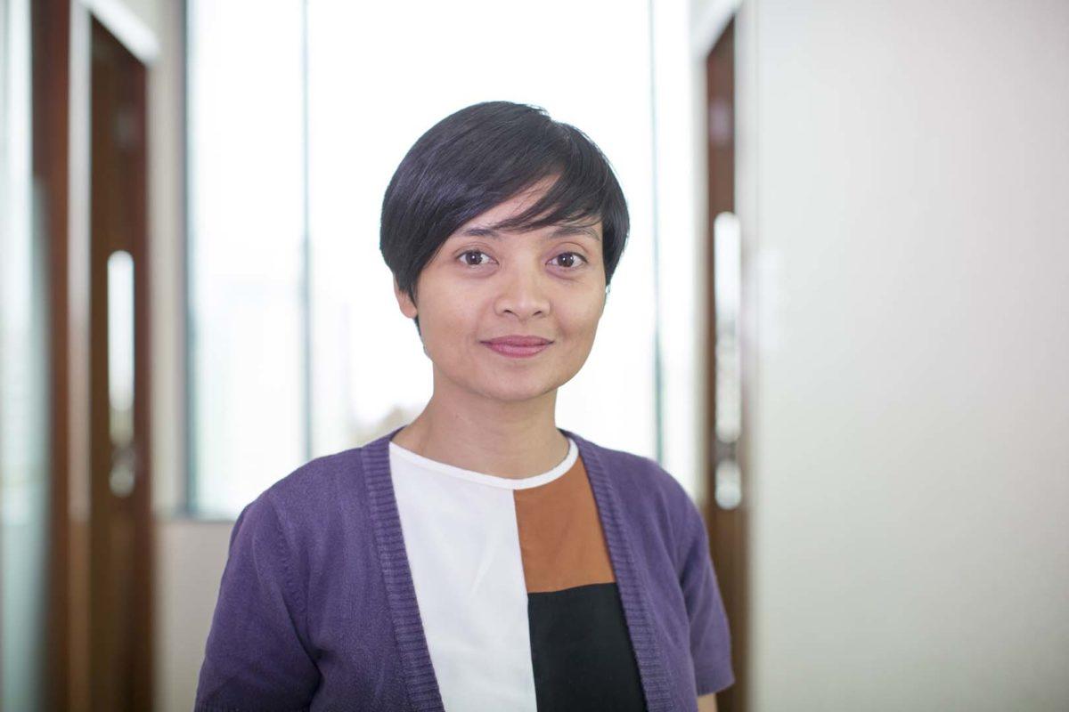Verania Andria, associate director, community renewable energy, Millennium Challenge Account Indonesia. Credit: MCA-Indonesia