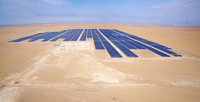 View over Tacna Solar (Image credit: Solarpack)