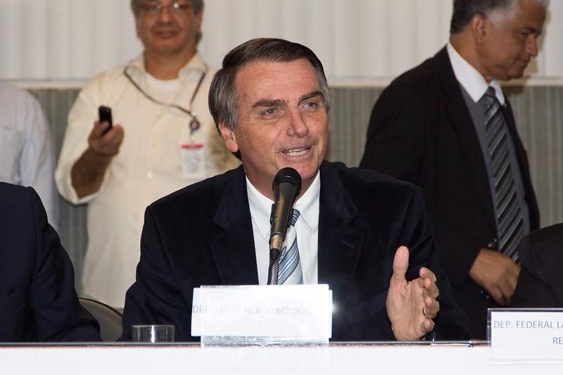 Bolsonaro's block of a solar-friendly bill comes despite his government's broader policy support to the industry. Image credit: Familia Bolsonaro / Flickr