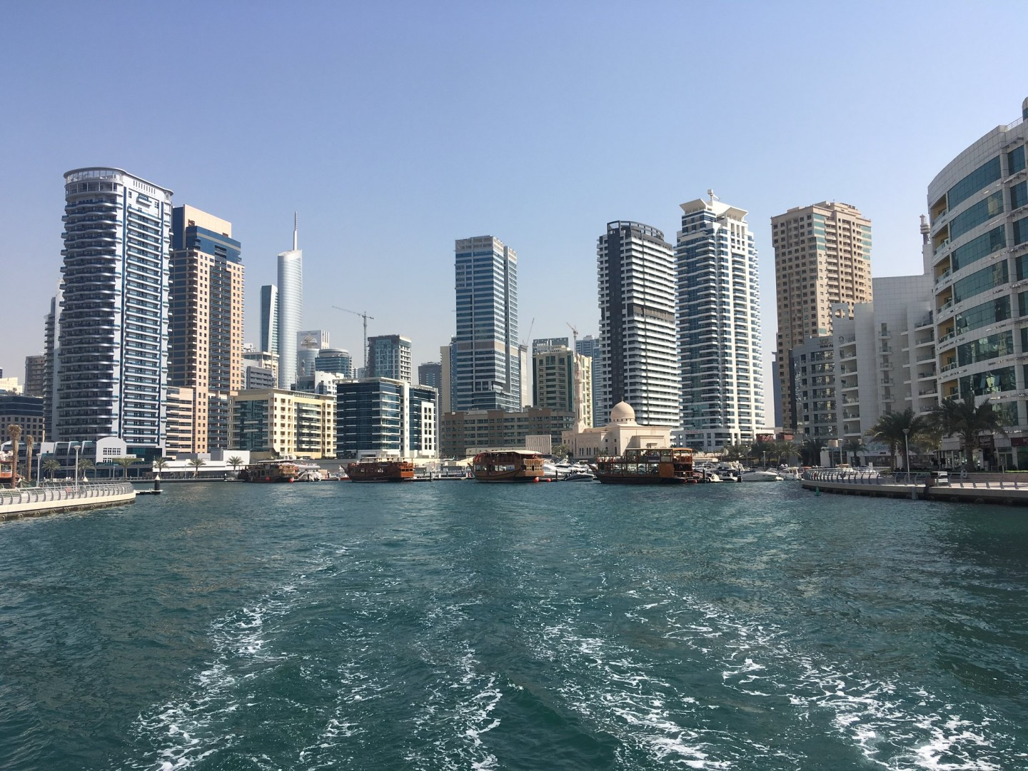 The floating scheme comes to join Dubai's efforts with ground-mounted and rooftop solar PV (Credit: Flickr / Serguei Gussev)