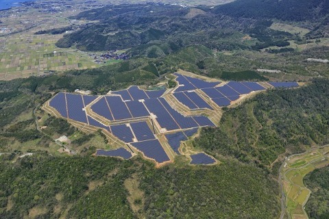 The 29.2MW project in Yonago City stands as Kyocera TCL Solar's largest PV project. Image: Kyocera