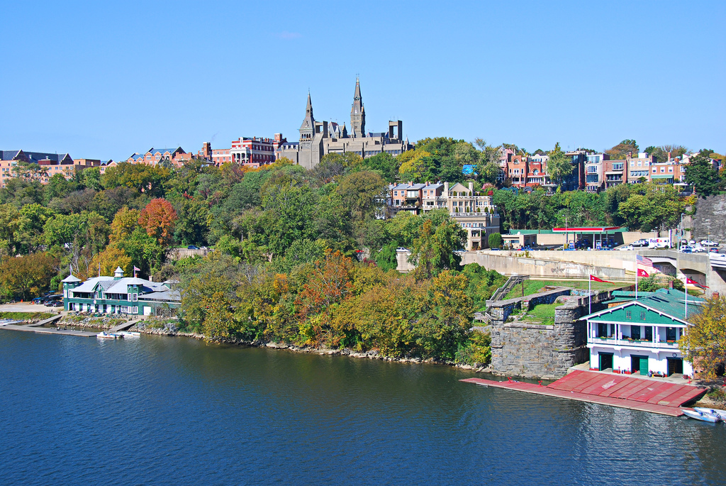 Once completed, the solar plant will power 49% of Georgetown's electricity load for campus operations. Image: John Weiss / Flickr