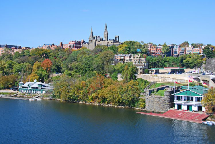 The solar plant would have powered 49% of Georgetown's electricity load for campus operations. Image: John Weiss / Flickr