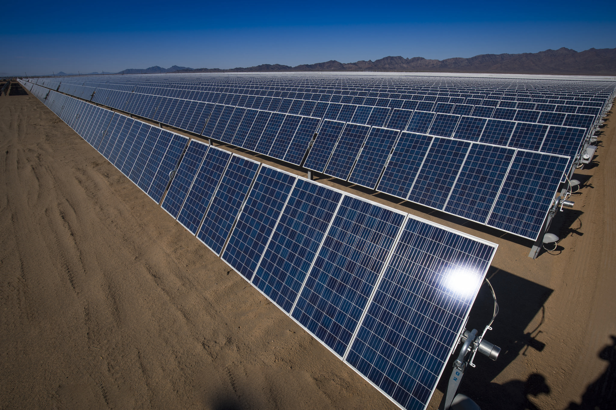 The 40.5MW PV project is being developed by Norwegian IPP Scatec Solar and Mozambique's electricity utility Electricidade de Moçambique (EdM). Image: Bureau of Land Management
