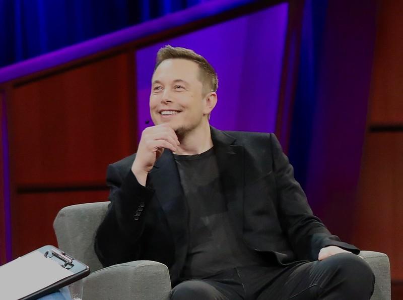 Elon Musk, CEO and co-founder of Tesla. Image credit: Steve Jurvetson / Flickr
