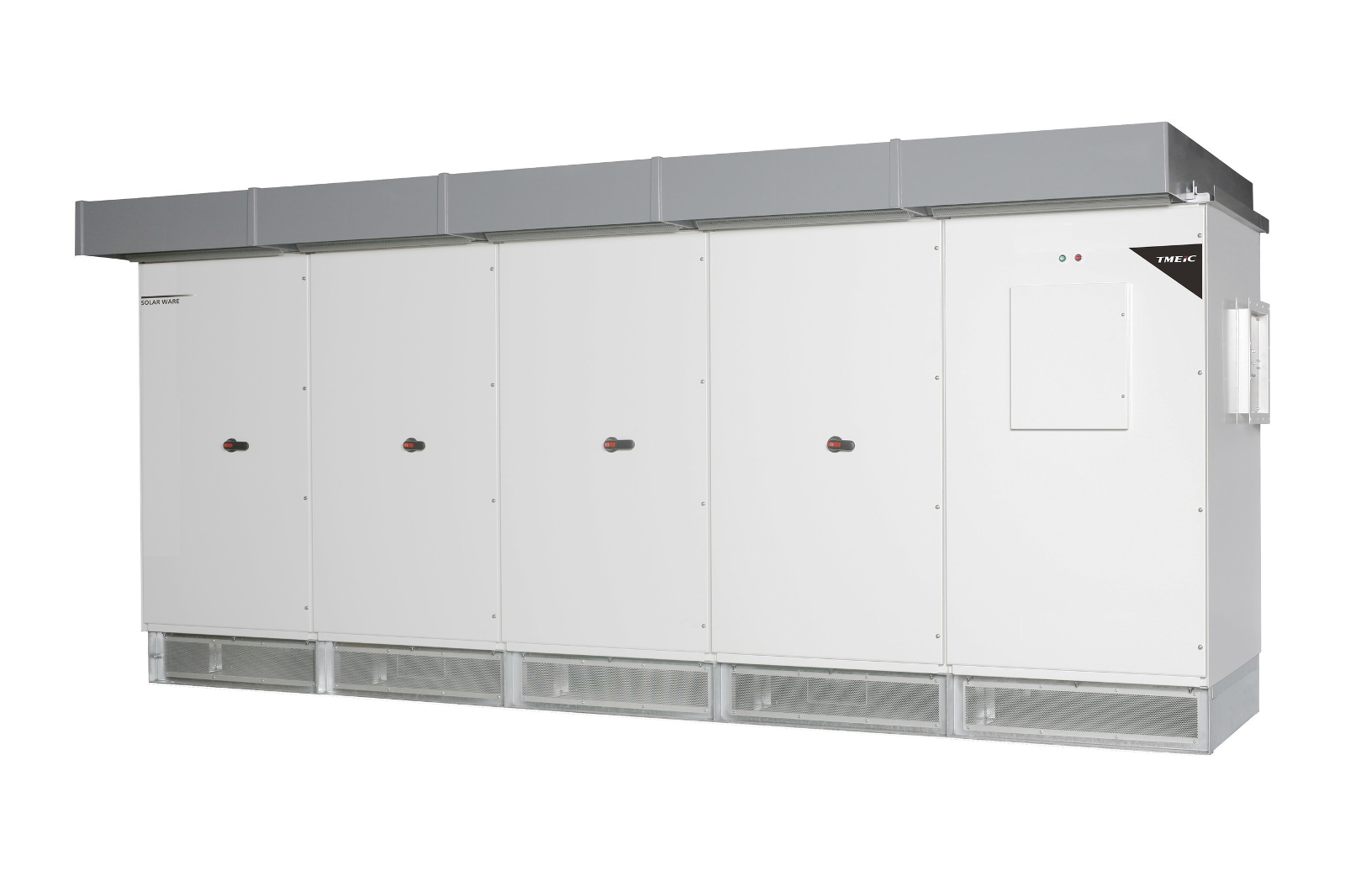 The new Samurai Series inverters offer a maximum efficiency of 98.8%. Image: TMEIC