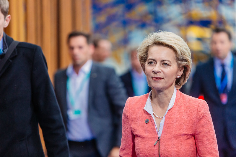 Ursula Von der Leyen, the European Commission's new president and the lead proponent of the European Green Deal. Image credit: Arno Mikkor (EU2017EE) / Flickr