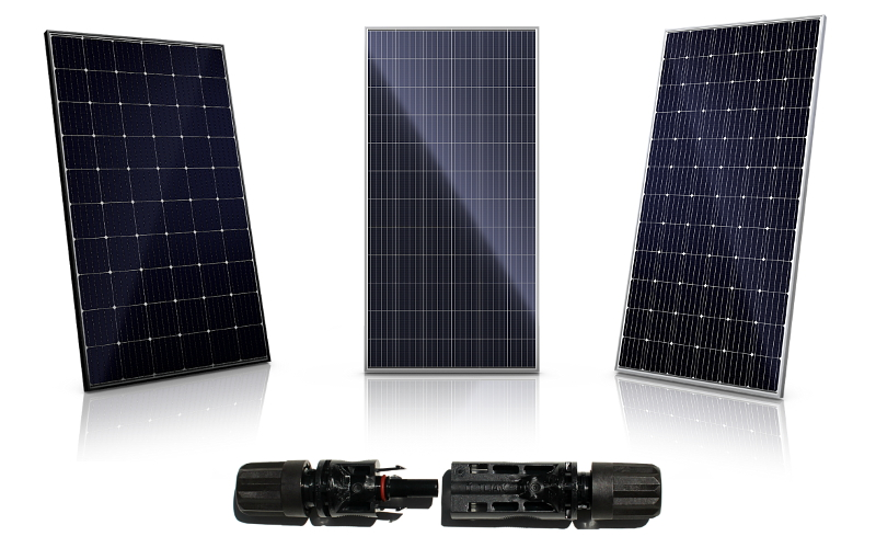 Canadian Solar has introduced a new suite of 1500V system voltage monocrystalline and multicrystalline solar modules in 60-cell and 72-cell configurations as well as a T4 field-installable PV connector portfolio for commercial and utility-scale PV power plants. Image: Canadian Solar
