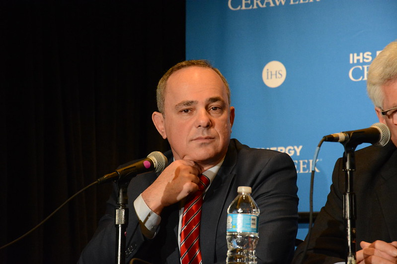Minister Steinitz (pictured above) said the renewable additions this decade will be equal to 'all the power plants and power production existing in Israel today'. Image credit: Bartolomej Tomic / Flickr