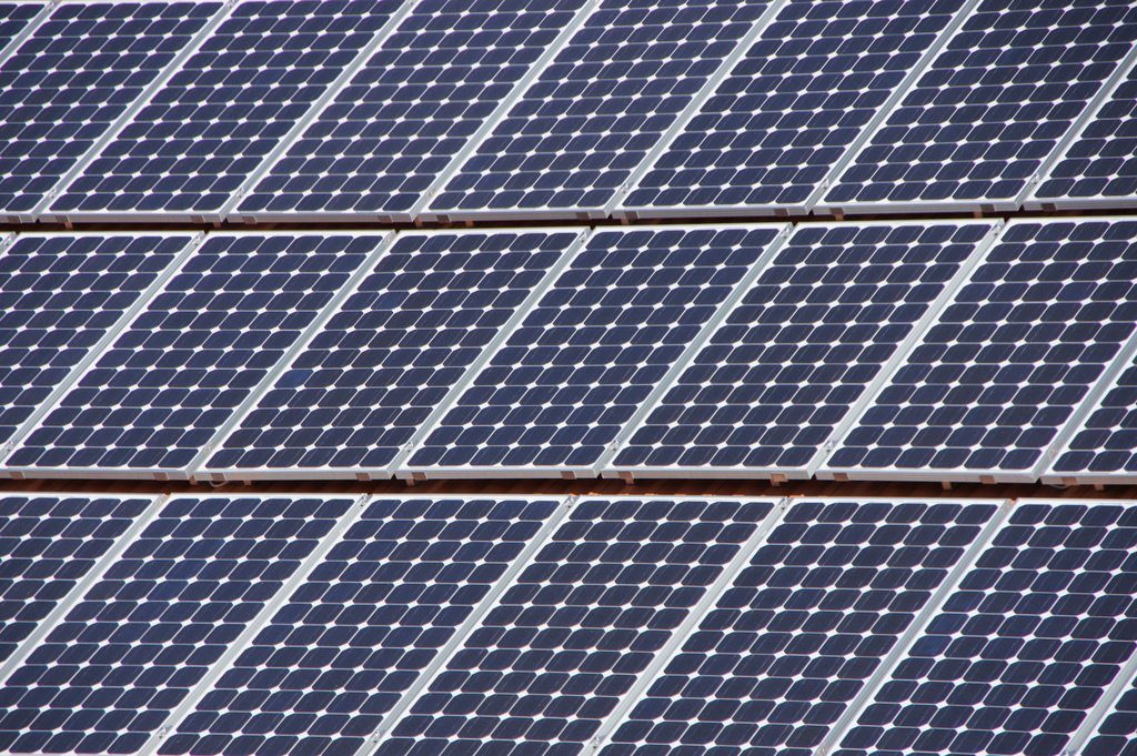 The 90MW solar complex is expected to be completed by November 2018. Image: Martin Abegglen / Flickr