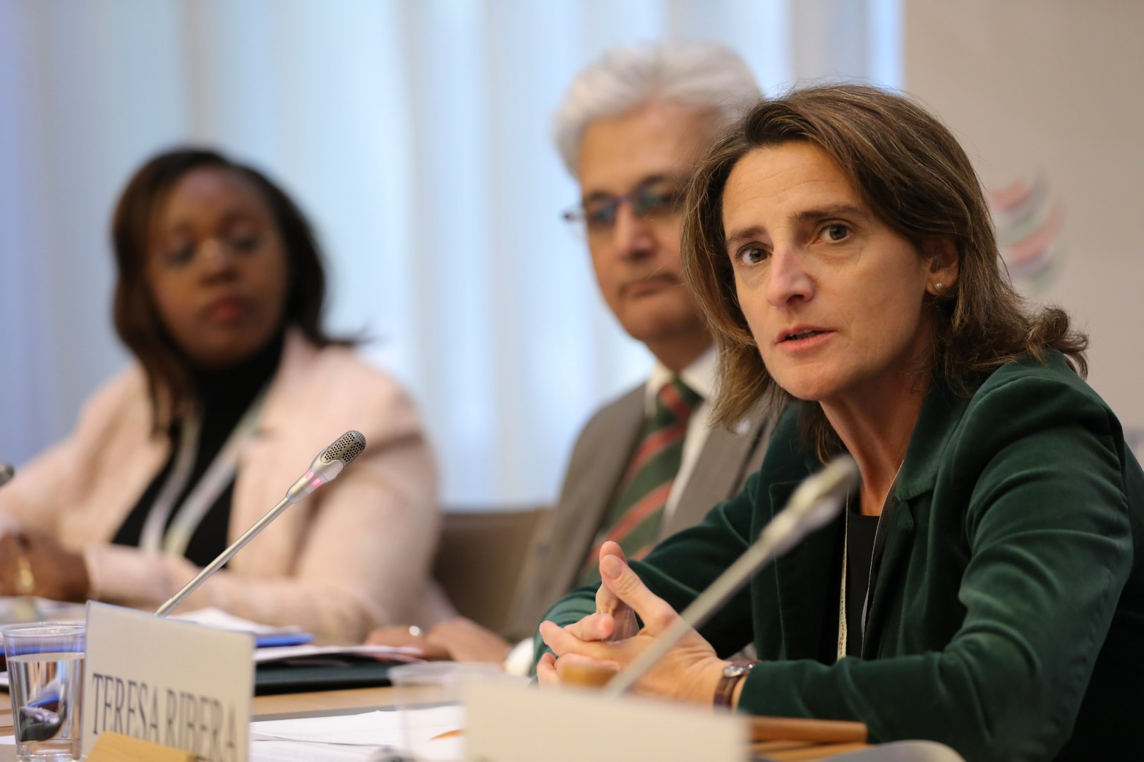 Teresa Ribera, Environment minister of European solar hotspot Spain, was among the officials backing the calls for a new solar manufacturing push. Image credit: World Trade Organization / Twitter