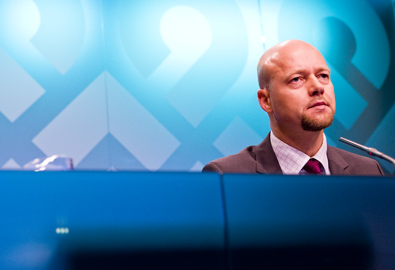 Named NBIM's CEO in 2008, Yngve Slyngstad will step down and move to London to oversee the fund's new green energy push. Image credit: Norges Bank / Flickr