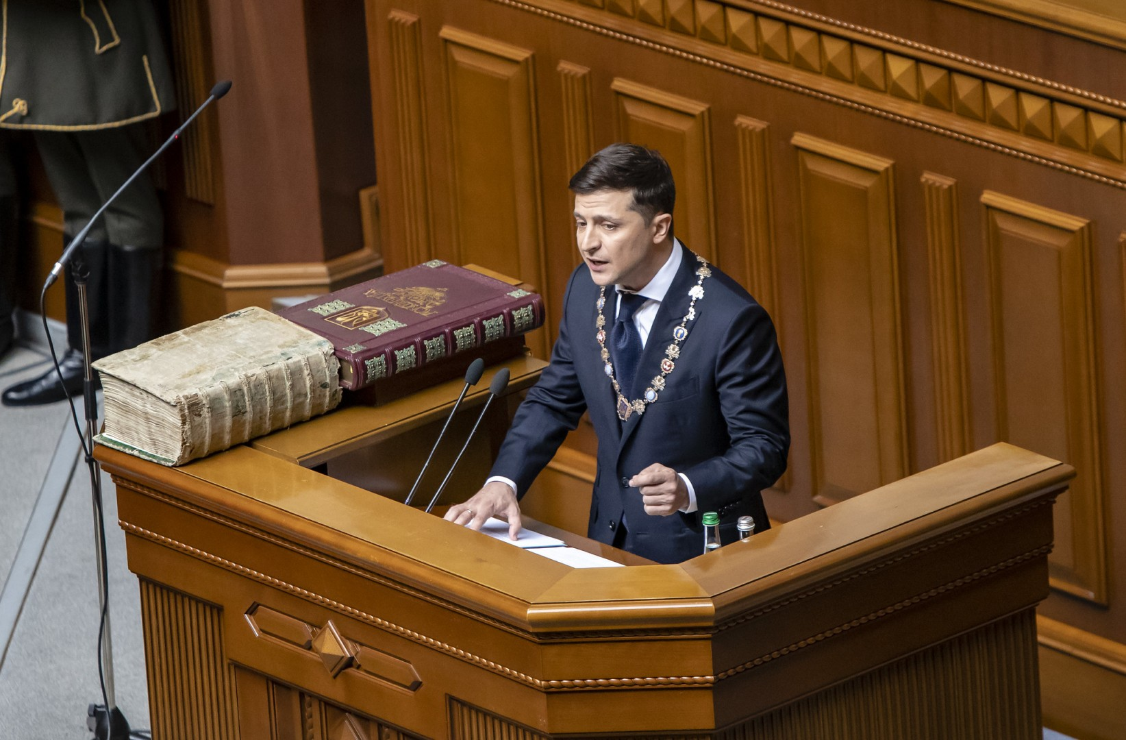 Volodymyr Zelensky was elected president at elections in April (Image credit: Flickr / U.S. Embassy Kyiv Ukraine)