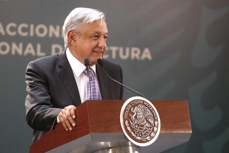 Mexican president Andrés Manuel López Obrador. Image credit:  Milton Martínez / Secretaría de Cultura de la Ciudad de México