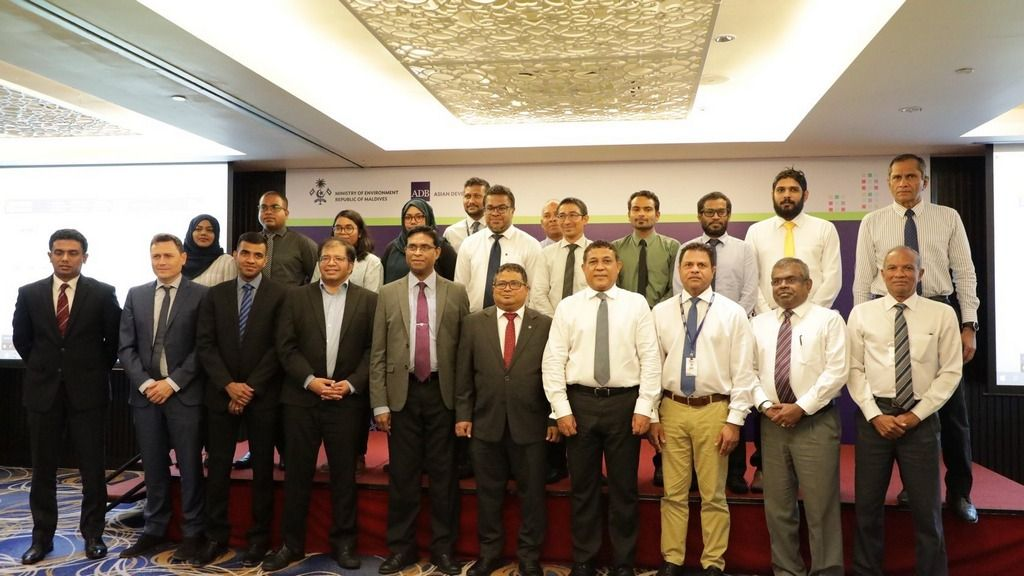 The POISED Project aims to transform existing diesel-based energy minigrids into hybrid renewable energy systems in 160 inhabited islands of the Maldives, out of which installations on 48 islands spread across 8 atolls have been commissioned. Credit: ADB
