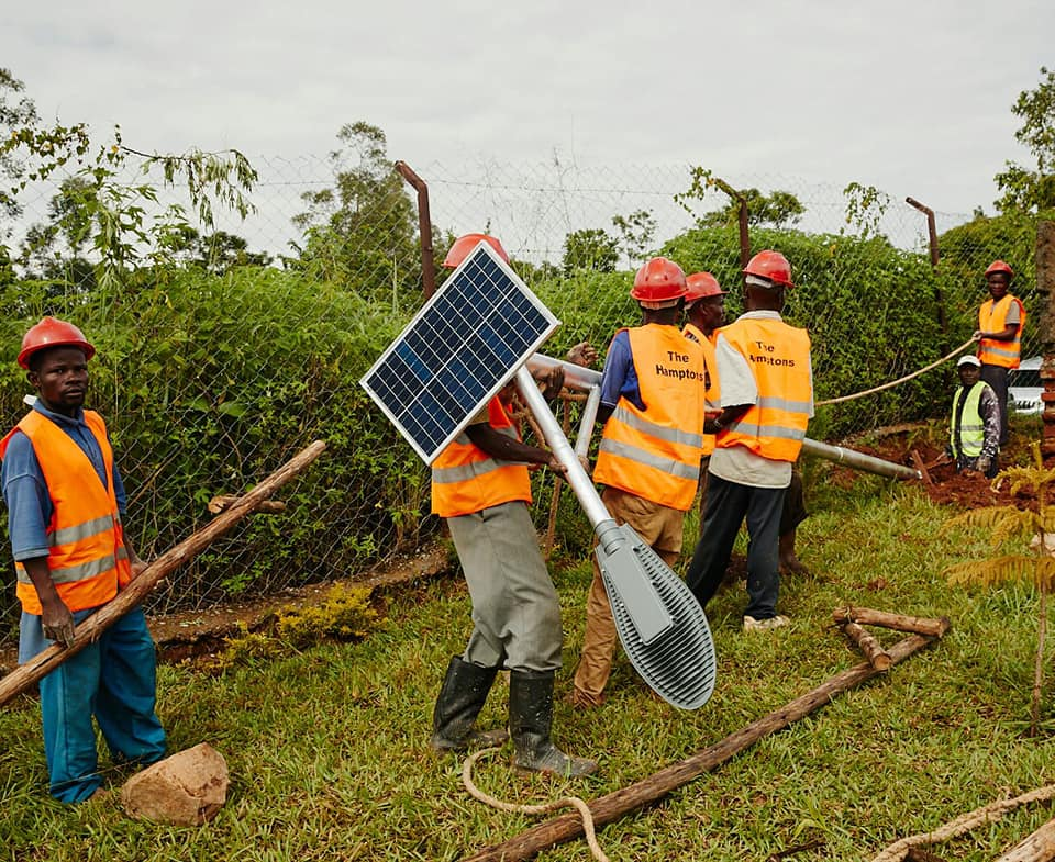 The solar plant should finish construction at the Mwale complex in December 2020, according to MCX (Credit: Mwale Medical and Technology City)