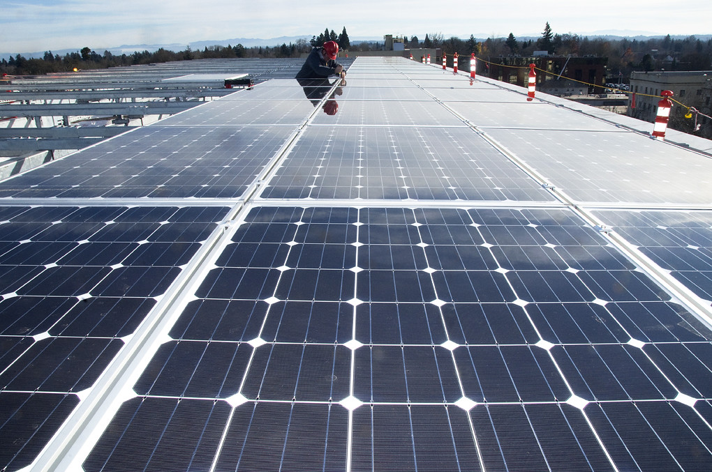 The supported PV portfolio is comprised of 57 projects in eight separate states — with the installations representing a combined generation capacity of 1.2GW. Image: Oregon Department of Transportation / Flickr