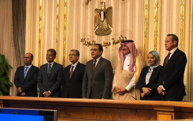 ACWA and Egyptian government officials. Source: ACWA