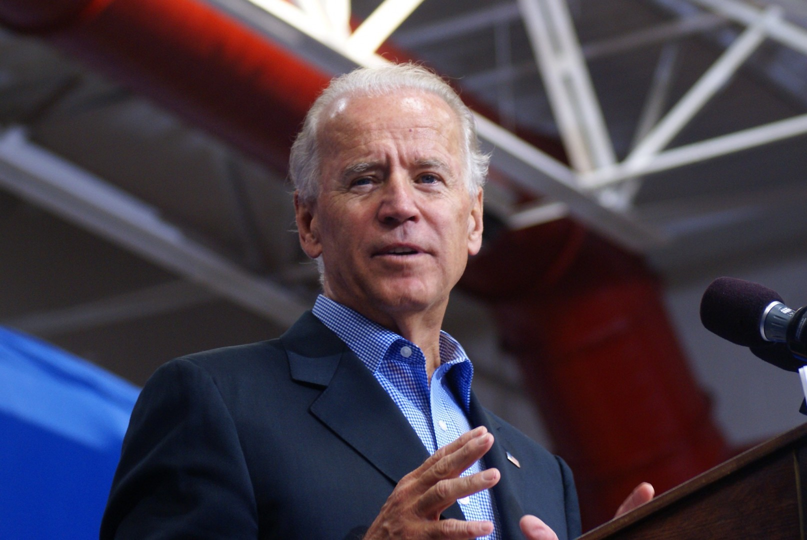 Former vice president Biden wants to invest US$400bn in clean energy and climate research (Image credit: Marc Nozell / Flickr)