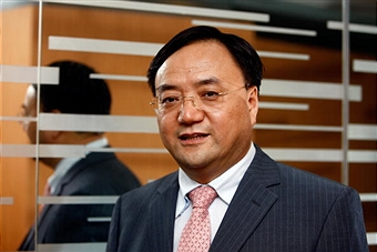 Tan Wenhua, president of Solargiga. Source: getty images