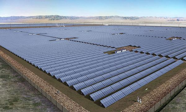 Springbok 3, now operational,  is the third and final phase in the Springbok cluster, which is a 448MW installation located in Kern County, California. Image: 8 Minute Solar Energy