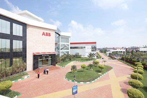 ABB's site in Bangalore, India, will be maintained as part of the acquisition. Image: ABB.
