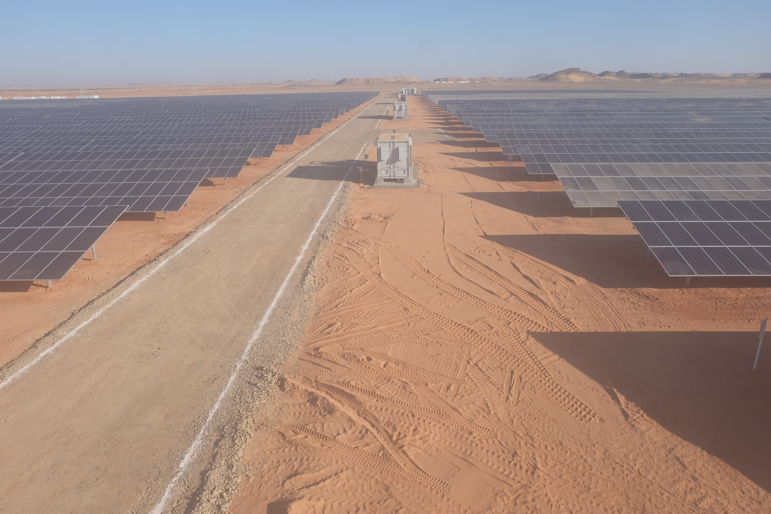 Commissioned in two phases, the installation features ABB's PVS800-IS inverter stations. Image: ABB