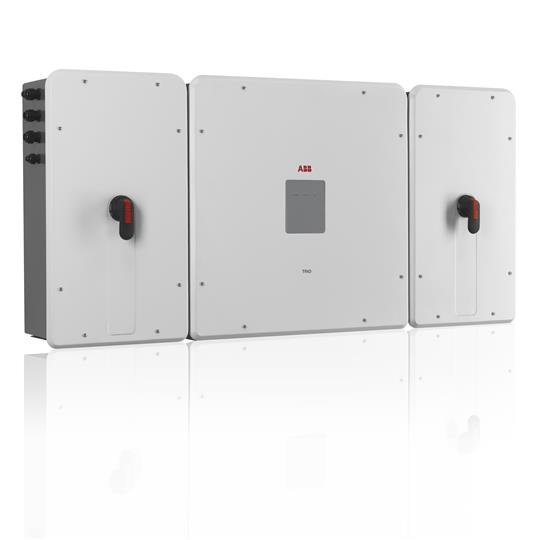 The TRIO-50 transformer-less inverter is specifically designed for decentralized commercial and industrial applications.