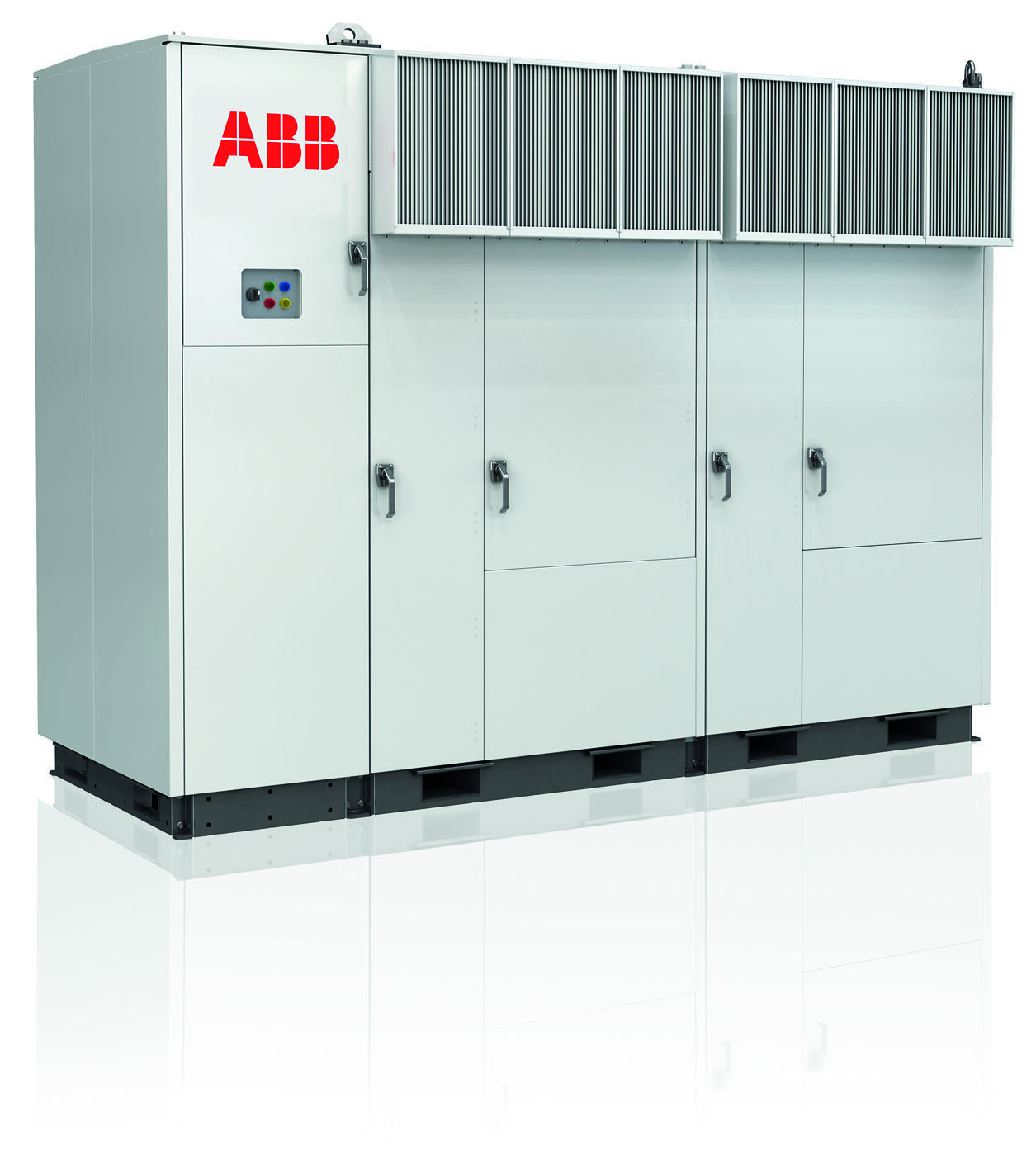 The new factory manufactures ABB's PVS800 central inverter series. Credit: ABB