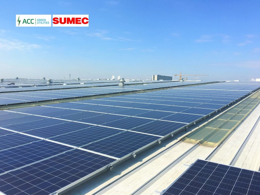 The partnership between ACC and SUMEC is to speed up the development of ACC's pipeline in mainland China. Source: Asia Clean Capital