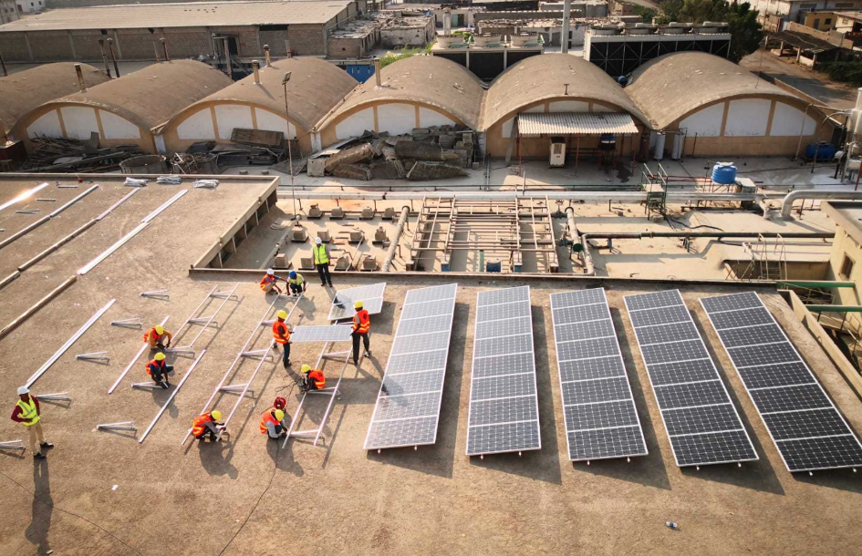 ACT Group is also currently constructing a 2MW rooftop C&I solar project in Pakistan - a segment that is set to thrive. Credit: ACT Group