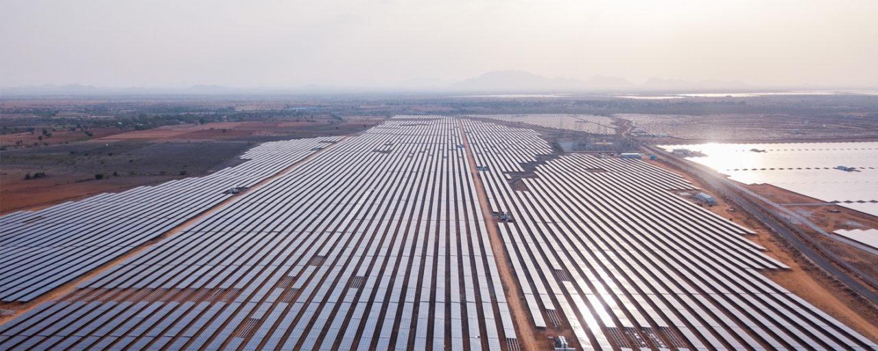 An Adani solar park. Source: Adani