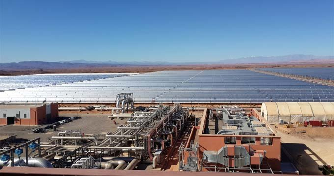 The two solar plants will be connected to the national grid and will guarantee electricity supply to more than two million Moroccans within the country. Image: African Development Bank