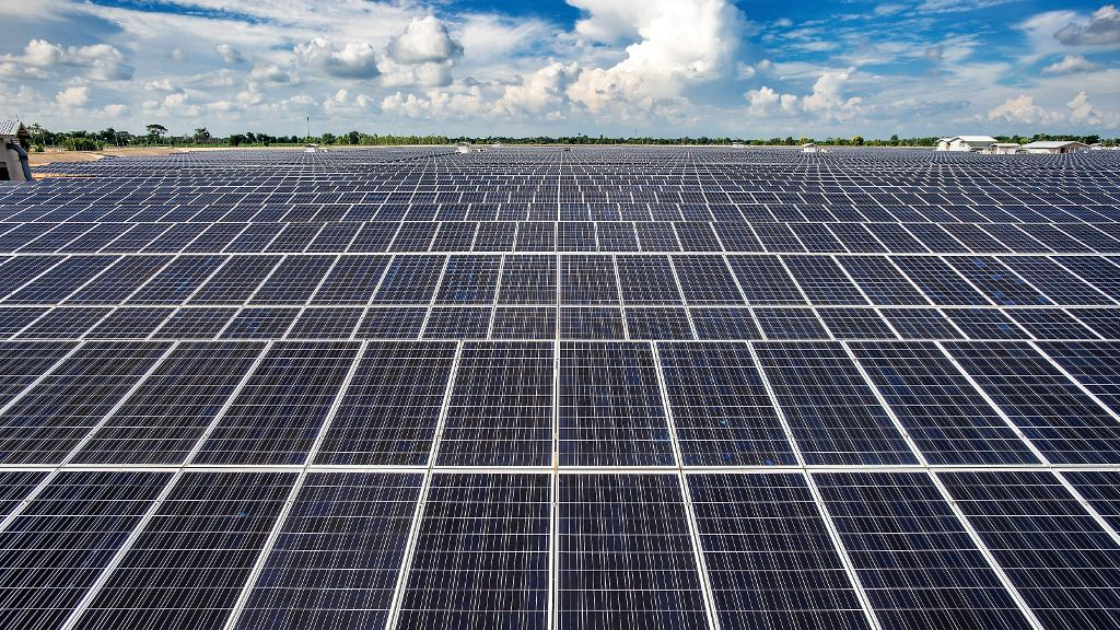 The 10MW Bavet solar farm is Cambodia's first competitively-bid renewable energy IPP project. Source: Sunseap