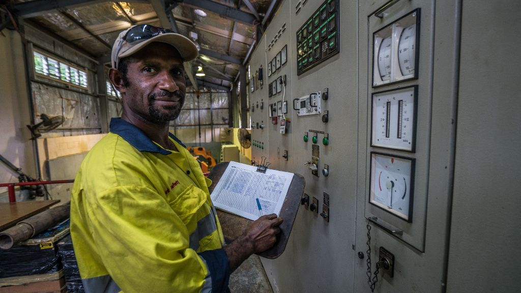 ADB has a current Pacific energy sector portfolio of US$355 million. Credit: ADB