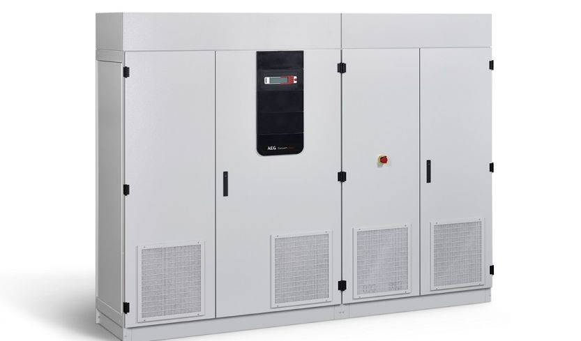 AEG Power Solutions' Convert SC Flex converters will be used for the project. Image: AEG Power Solutions.