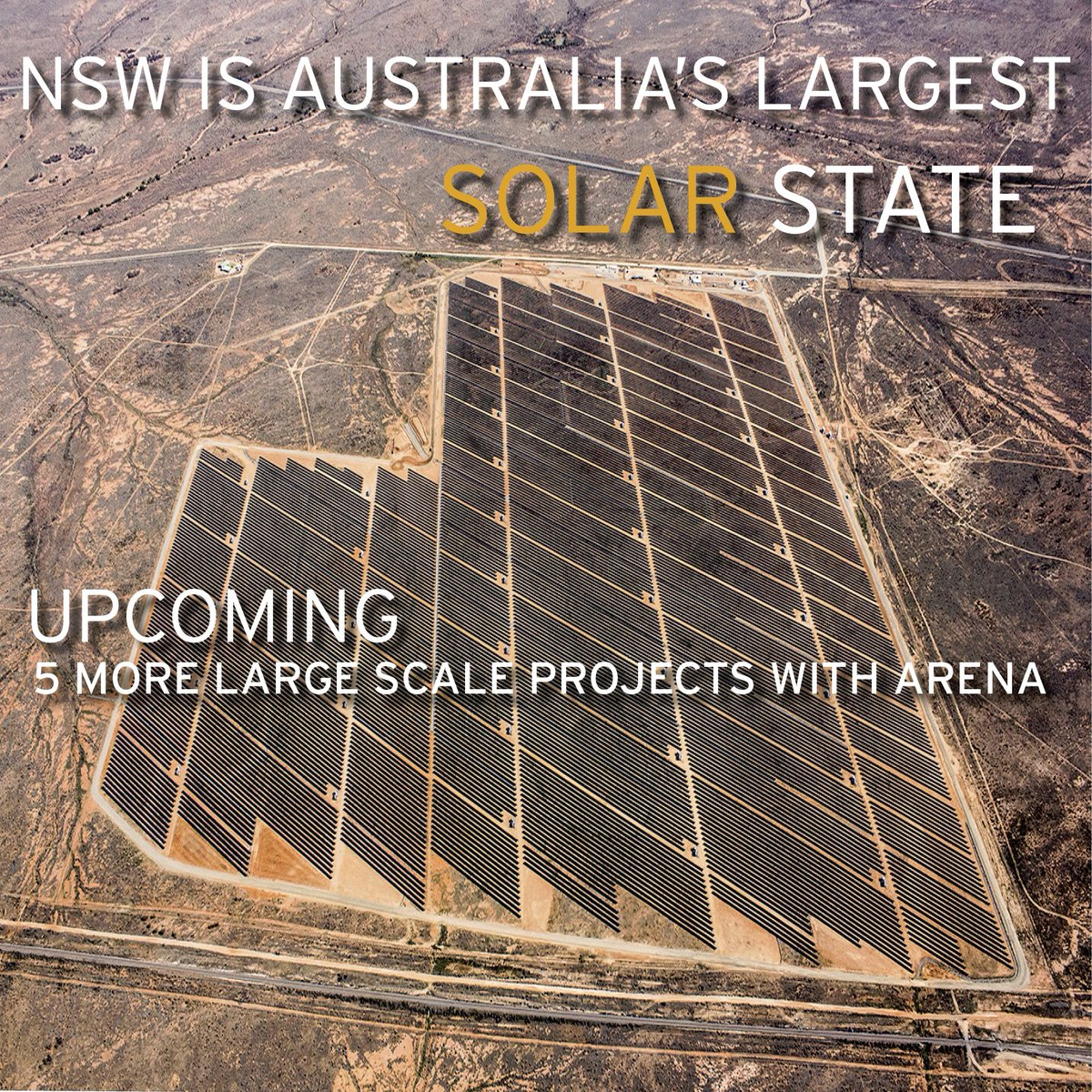The first commitment will be a 13-year PPA signing for the 42.6MW solar farm at Manildra in regional New South Wales. Credit: ARENA