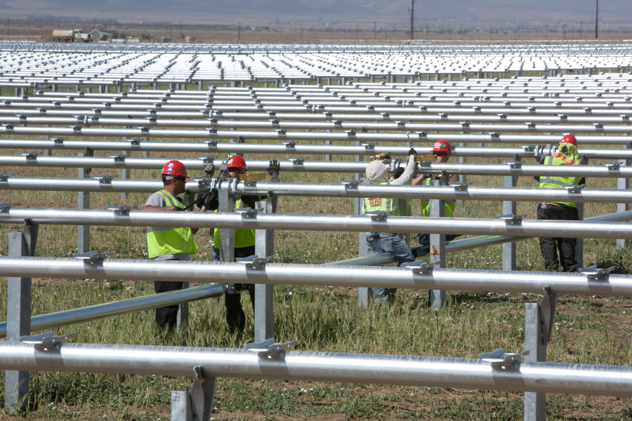 The future of the US solar industry was one of the big questions to be answered in 2015. Image credit: SunPower.