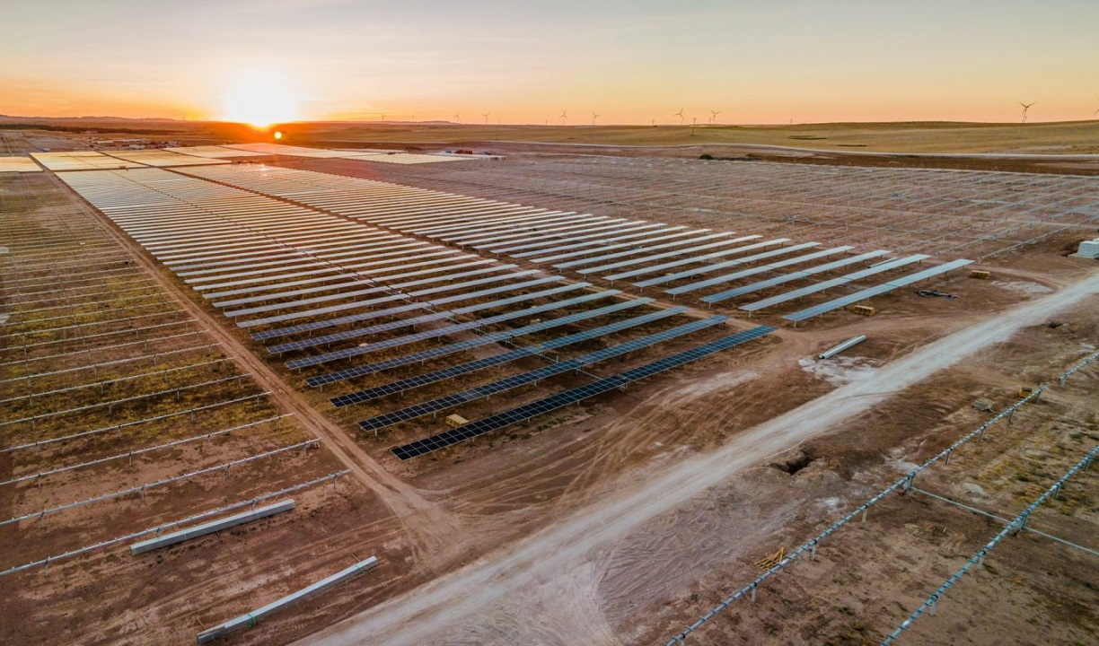 A Lightsource BP solar project currently under construction in Zaragoza, Spain. Image: Lightsource BP.