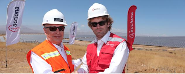 Acciona has the 246MW El Romero solar plant in operation in Chile. Credit: Enami